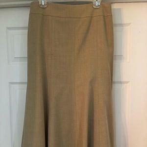 Talbots long linen like skirt. Size 10